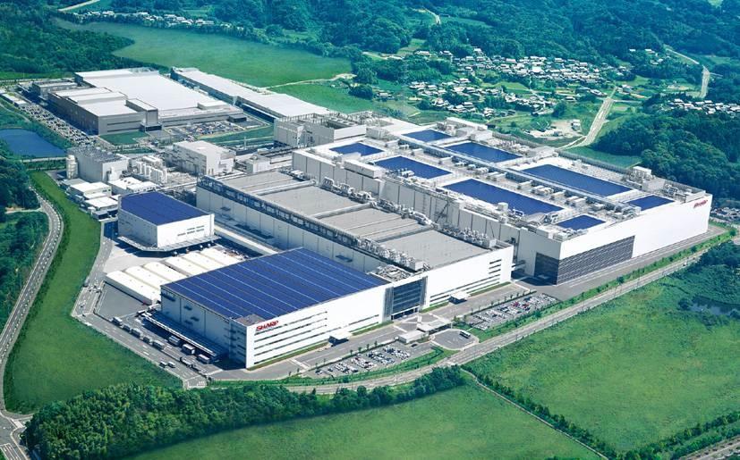 fabrica sharp pantallas apple iphone