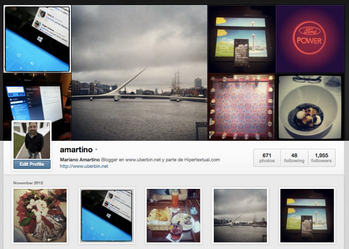 instagram amartino perfil