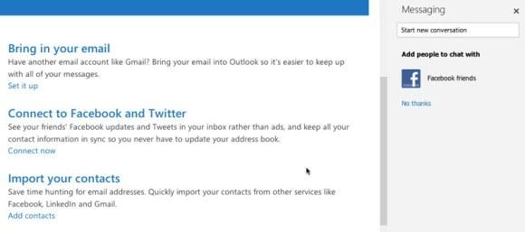 Outlook.com integracion