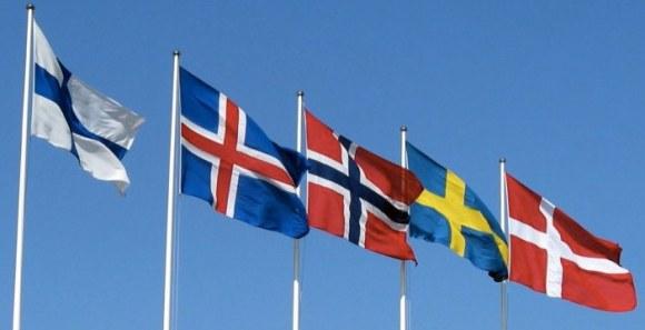 banderas nordicas