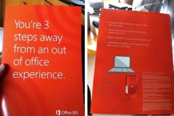 Mirosoft office 365 WIFI gratis