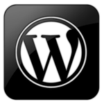 wordpress logo app