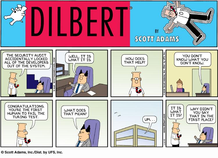 Dilbert Turing