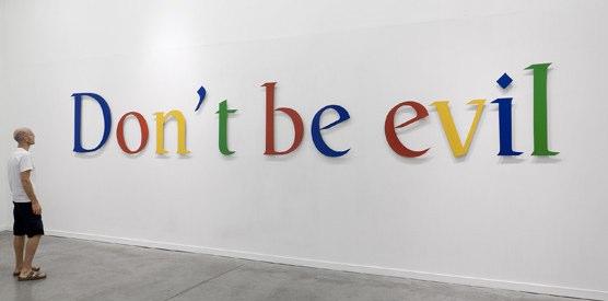 google Dont Be Evil