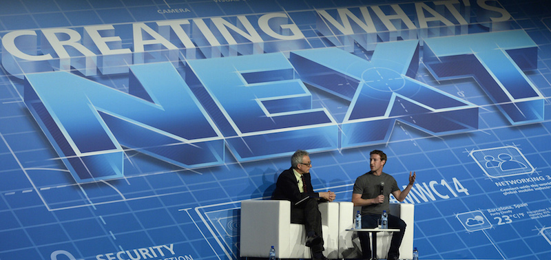 Zuckerberg en el Mobile World Congress 2014 - ironias