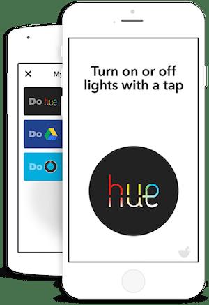 IFTT Do phone acciones para IoT
