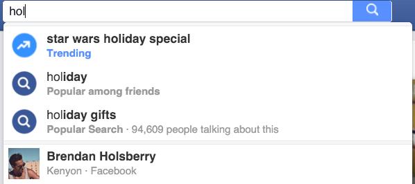 facebook search y la monetizacion