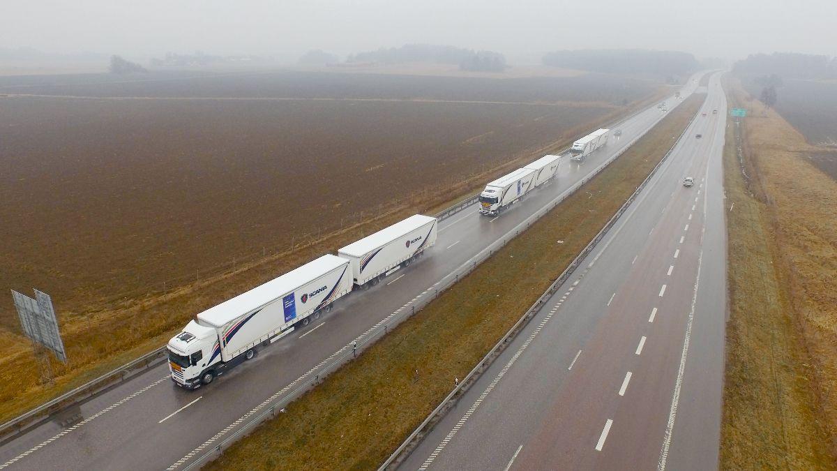 camiones autonomos scania