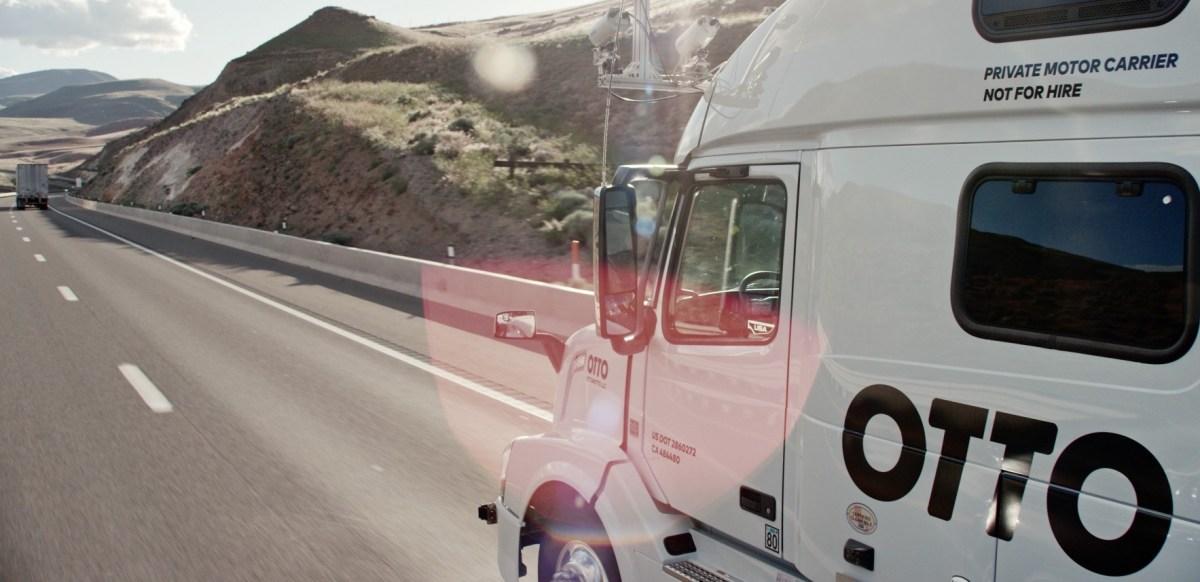 Otto otra visión de camiones autónomos