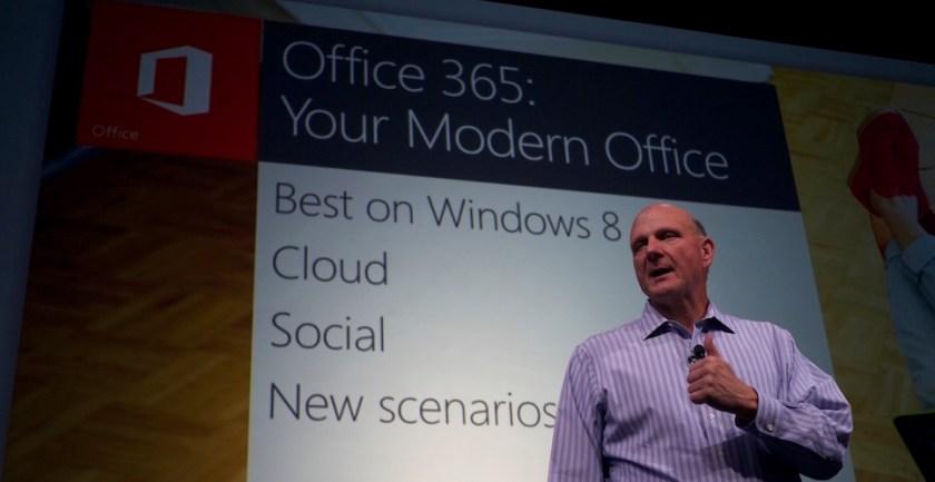 ballmer office 365