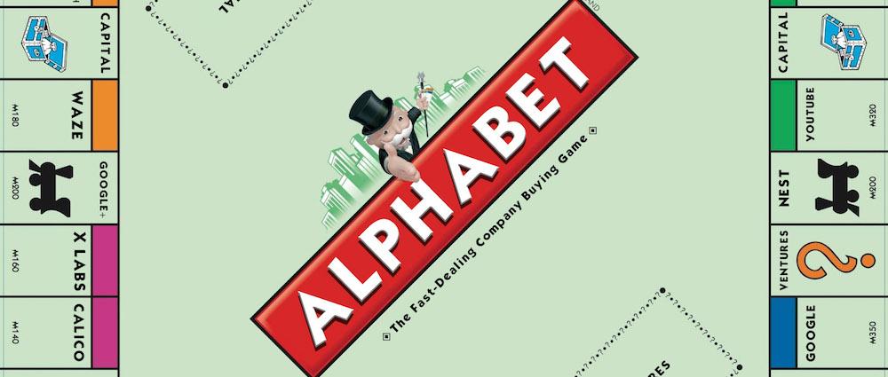 Alphabet Google Monopoly