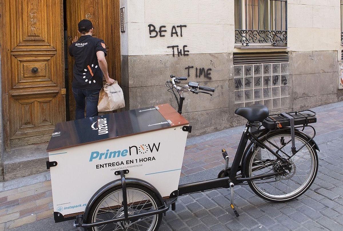 Amazon Prime entregas en una hora