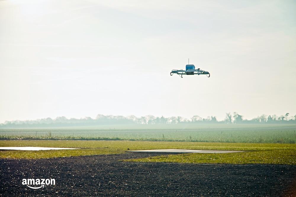 Amazon Prime Air entrega su primer pedido