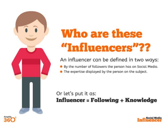Influencers, de amigos a telemarketers