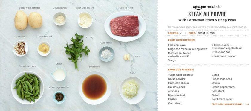 Amazon Meal Kit Blue Apron