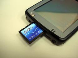 World's first WiFi 802.11g SDIO card
