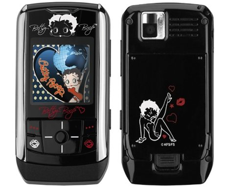 Samsung Betty Boop Phone