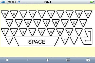 Will Triangular Keys Make Virtual Keyboards Better?