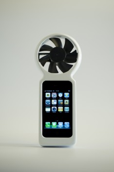 iFan Keeps Your iPhone Juiced With Wind Power