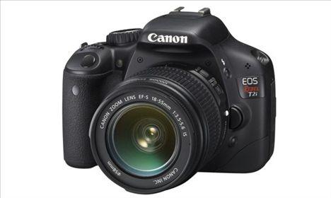 Canon Rebel t2i Announced