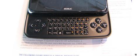 Le Moblic E7 a la connectvité WiMAX