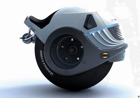 Hornet one-wheel superbike