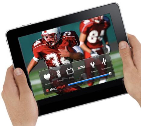 Le SlingPlayer arrive sur l'iPad