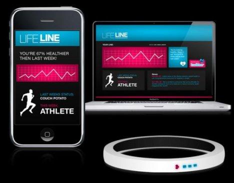 Le LifeLine surveille votre état de santé