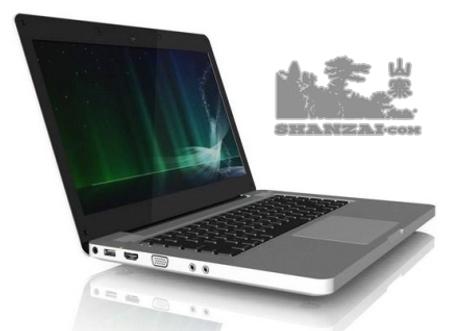 Le clone du MacBook Pro fonctionne a Dual-core Atom et ION2