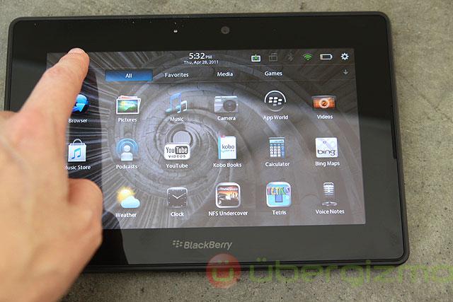 Blackberry Playbook Review | Ubergizmo