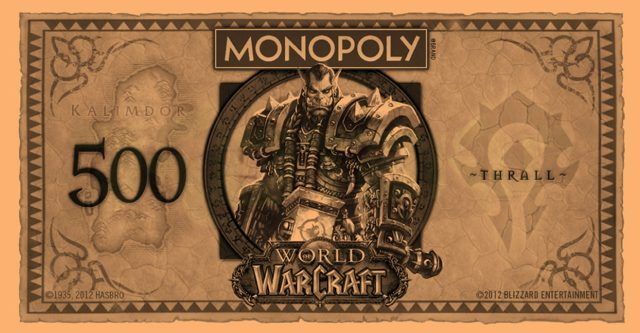 WoW Monopoly