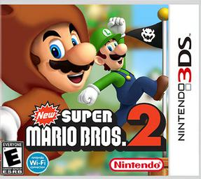 New Super Mario Bros  2 for the 3DS will feature paid DLCs | Ubergizmo