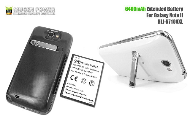 sports shoes 407f4 32177 Mugen's 6400mAh Battery For The Samsung Galaxy Note 2 Released