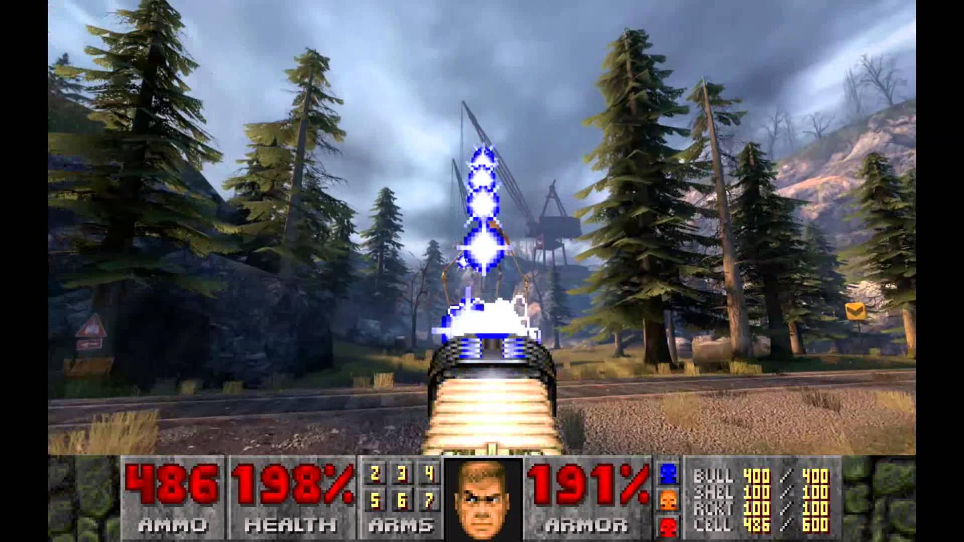 Doom 2 Integrated Into Half-Life 2 Through gmDoom Mod Is Awesome