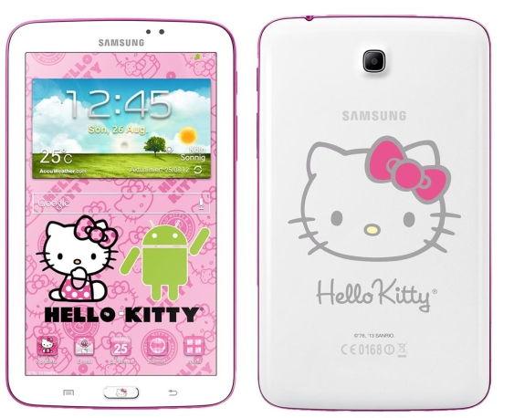 Go Cute With The Hello Kitty Samsung Galaxy Tab 3 7 0 Tablet