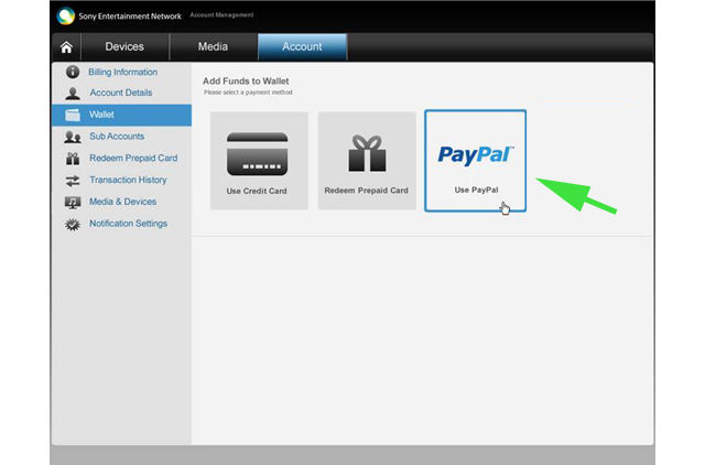 PayPal Sees Action On PlayStation Store   Ubergizmo