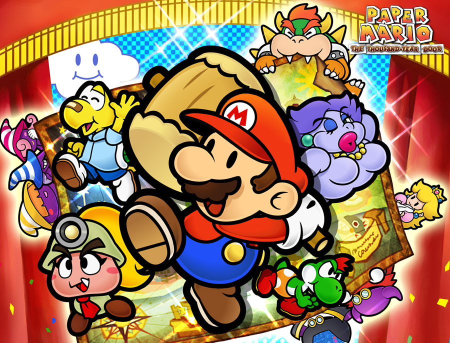 Leak Unleashes Paper Mario: The Thousand-Year Door, 3DS