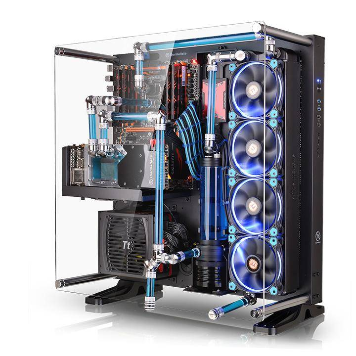 Thermaltake Unveils New Wall Mountable PC Case   Ubergizmo