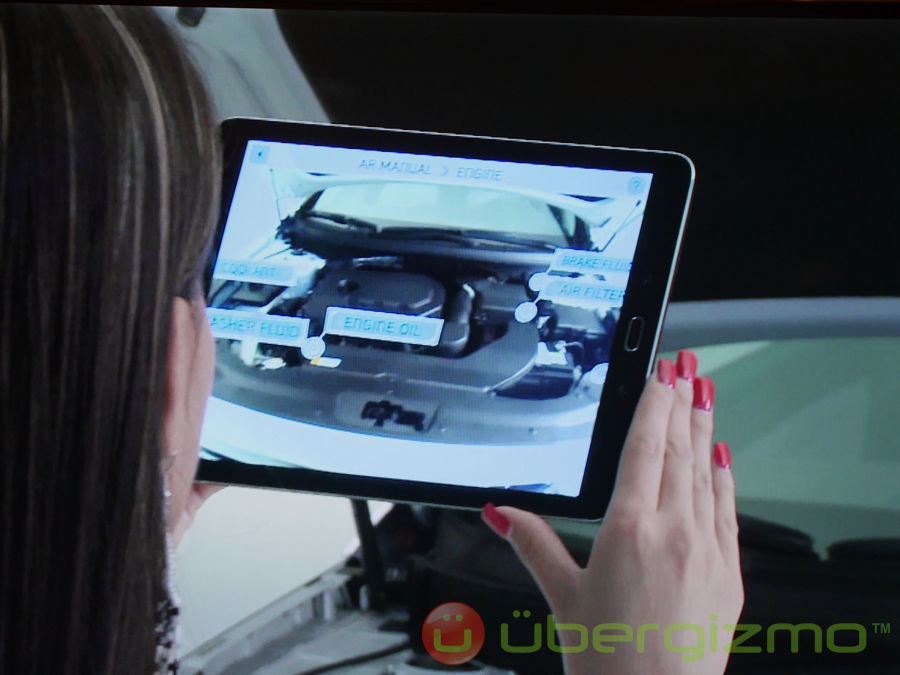 Hyundai Reveals AR User's Manual | Ubergizmo