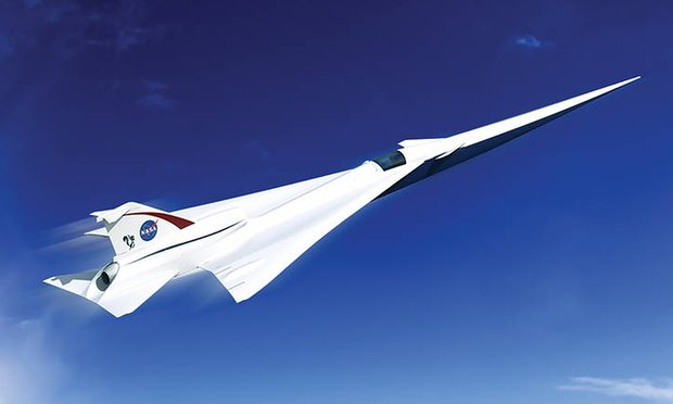 nasa-supersonic-plane