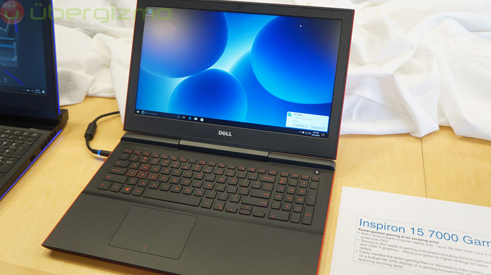 Dell Inspiron 7000 14 And 15 Inches Gaming Laptops | Ubergizmo