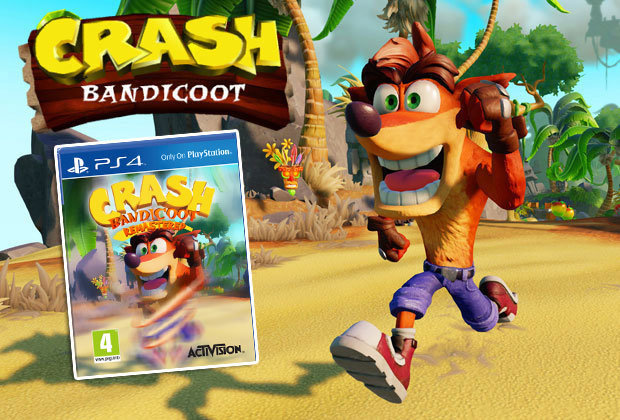 Activision Reportedly Has A Five Year Plan For Crash Bandicoot