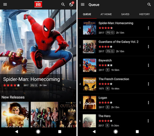 Netflix DVD Queue App Released For Android | Ubergizmo