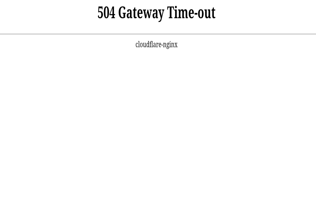 How To Fix A 504 Gateway Timeout Error | Ubergizmo