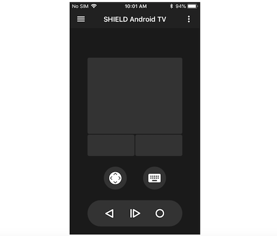 NVIDIA Testing Shield TV App With Virtual Keyboard And Remote