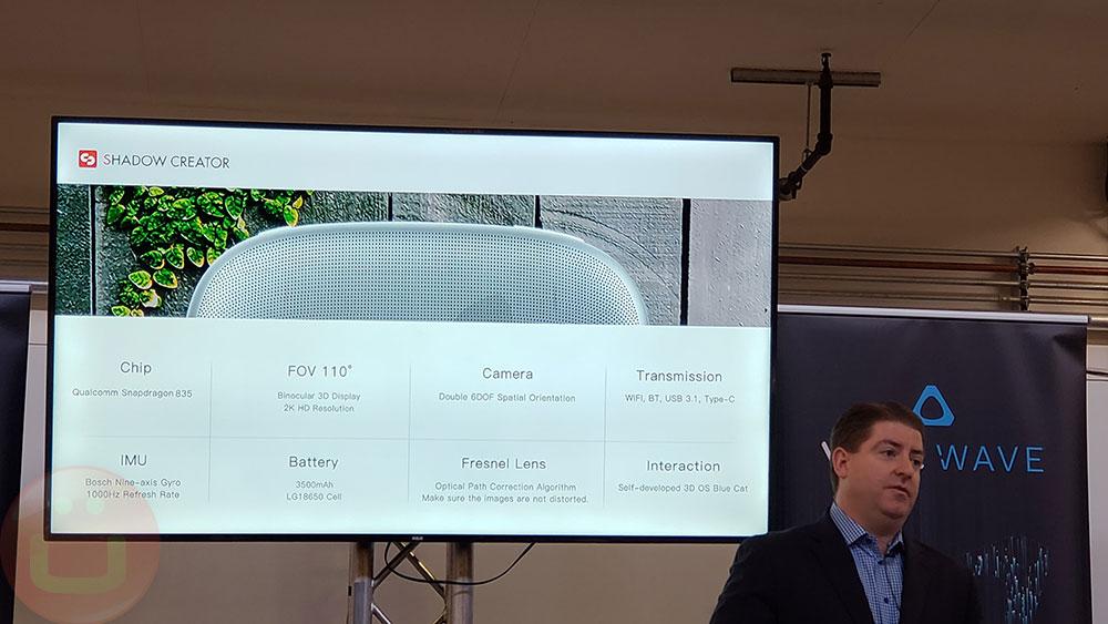 HTC VIVE Focus VR Headset For Enterprise | Ubergizmo