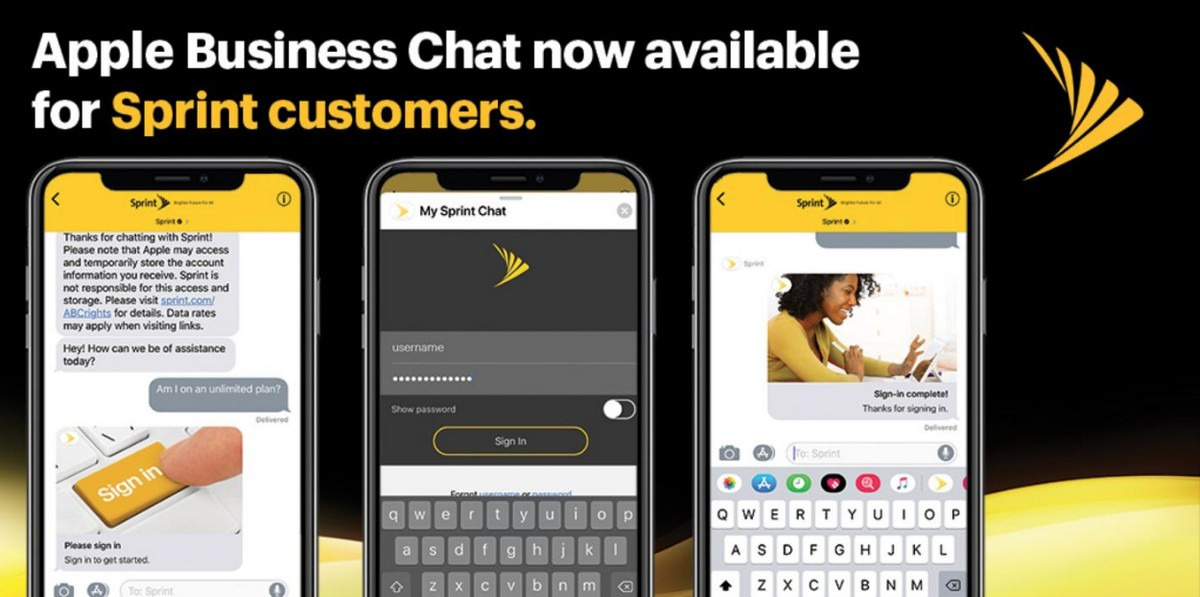 Customers Can Now Chat With Sprint Reps Through iMessage