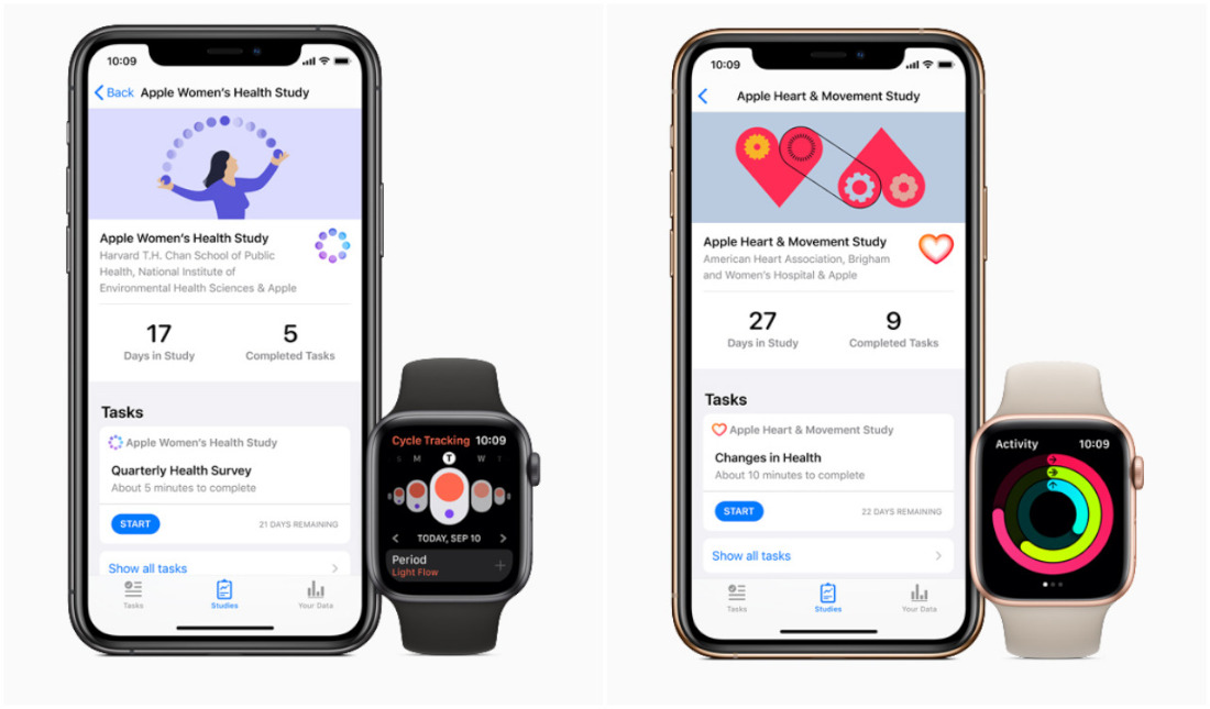 Apple's New Research App Includes Three Important Health Studies