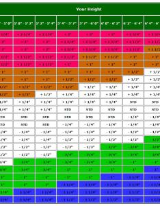 How to measure the length of golf clubs ultimate tips ubergolf also driver shaft fitting chart ibovnathandedecker rh