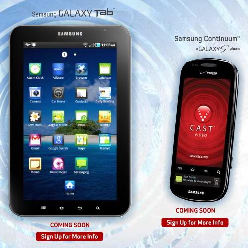 Verizon Samsung Continuum